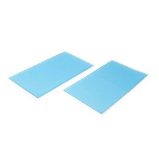 Anti decubitus been pad gel positioneren