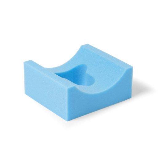 Adult head rest foam positioneren
