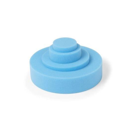 Hole in one foam positioneren